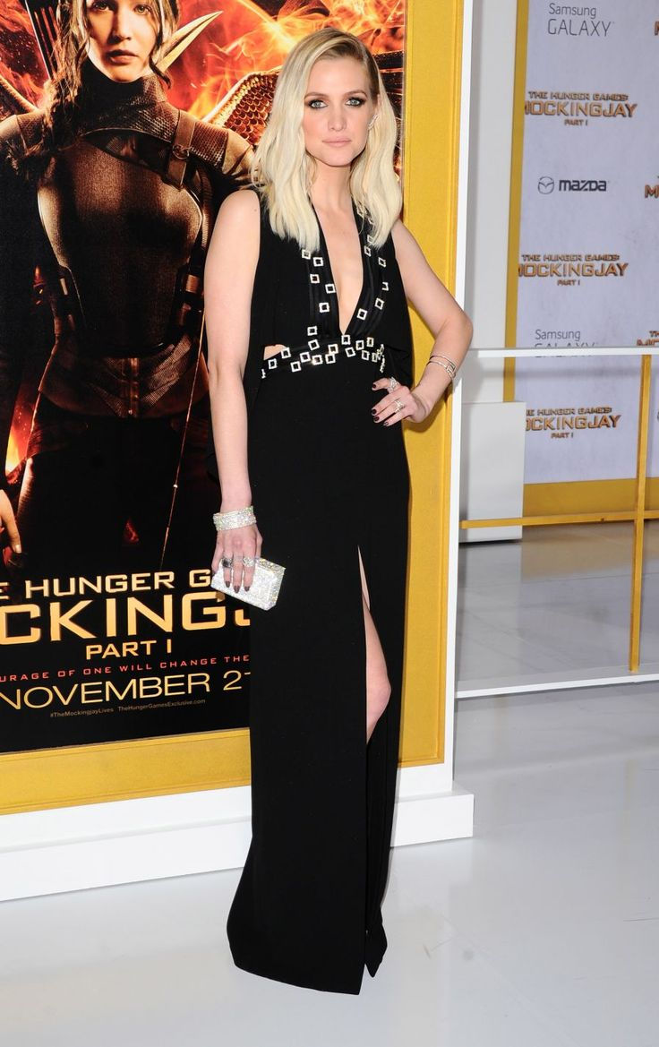 Ashee Simpson at The Hunger Games: Mockingjay Part 1 Premiere in Los Angeles