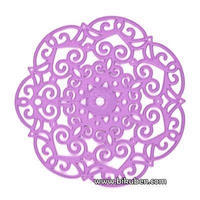 Prima - Purple Metal Die - Embroidery Doily