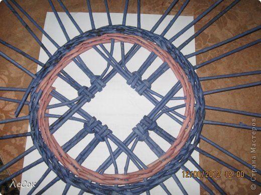 tető Поделка изделие Плетение Авторские крышечки Бумага газетная фото 7