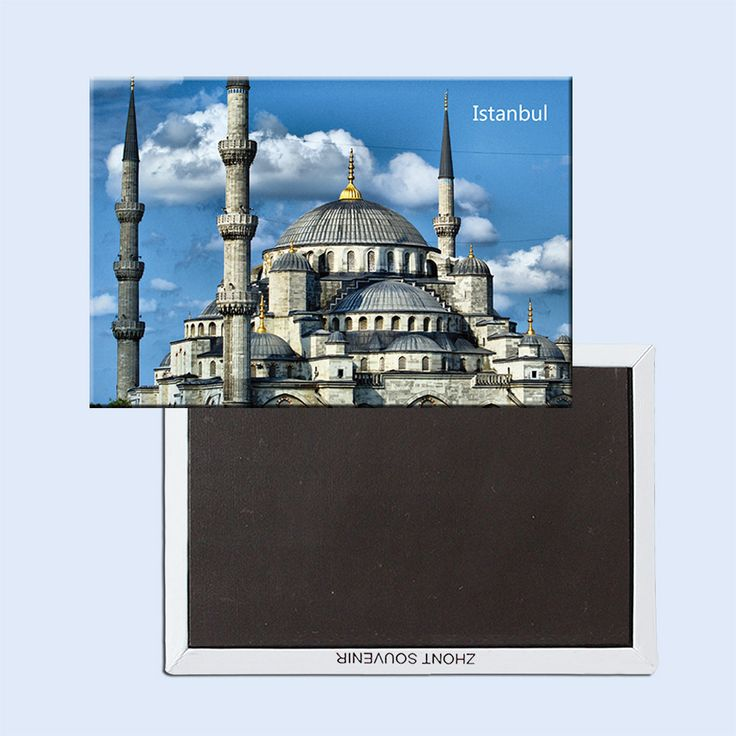 FREE shipping Home Decor Stickers,Turkey Istanbul Landscape Sophia Cathedral Fridge Magnet 5365 tourist attractions souvenir