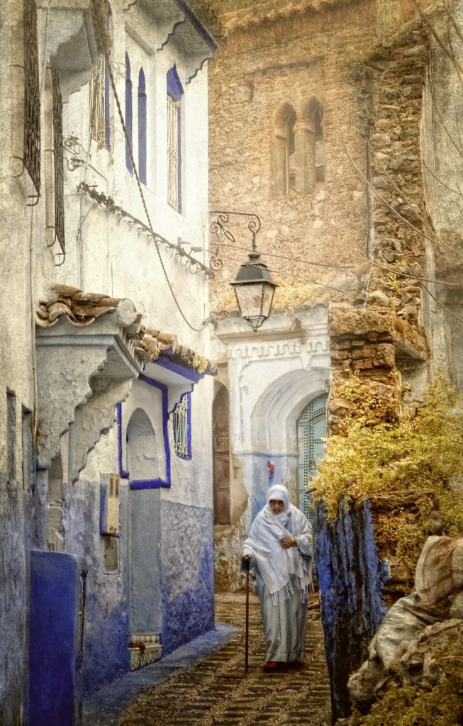 Chefchaouen, Morocco. ...the whole town is shades of blue....a favourite place...