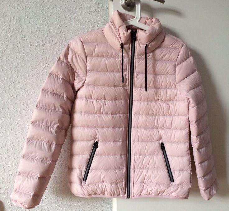Leichte Daunenjacke von edc by Esprit in rosa, Größe s, sehr guter Zustand
