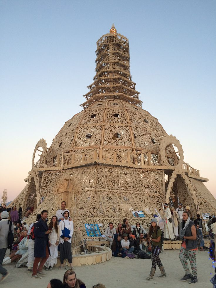 the temple of grace  burning man 2014