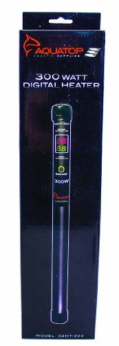 Aquatop D2HT-300 Aquarium Heater Digital Dual Display, 300-Watt ** Be sure to check out this awesome product.