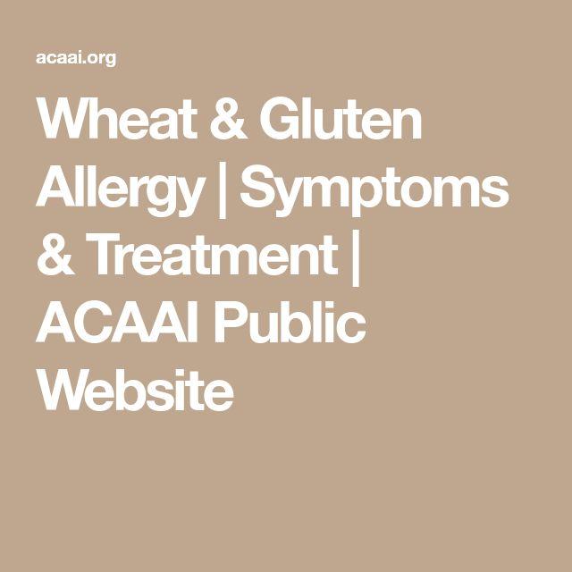 Wheat & Gluten Allergy | Symptoms & Treatment | ACAAI Public Website