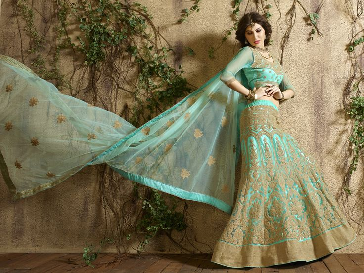 Wedding Wholesale Lehengas Supplier  Buy Now @ http://www.suratwholesaleshop.com/Pure-Net-Embroided-Lehenga-With-Embroided-Dupata-And-Heavy-Blouse-3004?view=catalog  #Wholesaler #Supplier #Lehengas #Chaniyacholi #Bridal #Owncollection