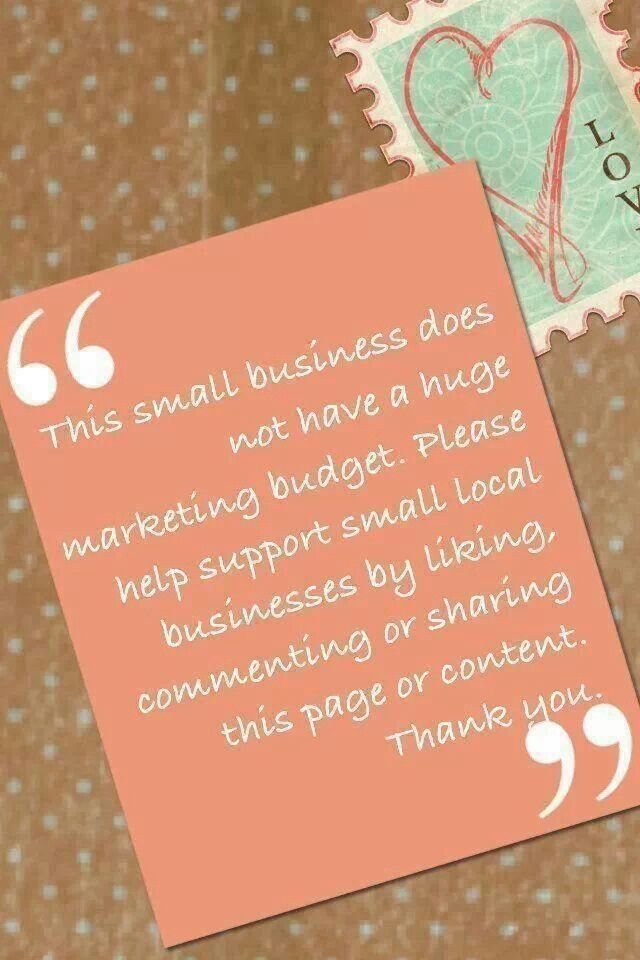 Supporting small business owners.