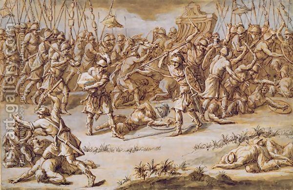 Art of warfare depicted in homers iliad