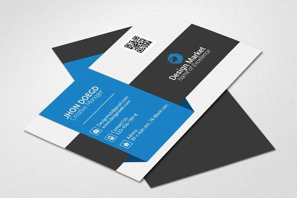 Attractive Business Card Template Business Card Template Business Cards Creative Templates Business Cards Creative