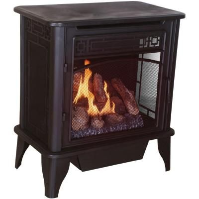 ProCom 26 in. Vent-Free Propane Gas Stove with Remote-PCSD25RT at The Home Depot  Cheapest, non-electric stove at the Home Depot that can be used in a mobile home