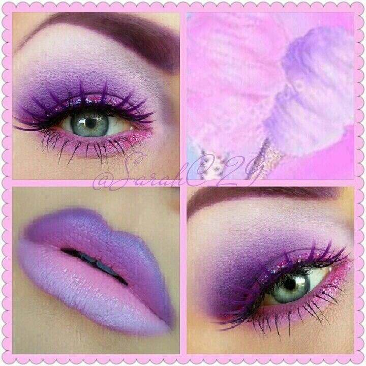 Cotton candy inspired makeup look so amazing | Makeup | Pinterest