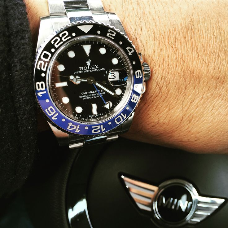 Rolex gmat Batman