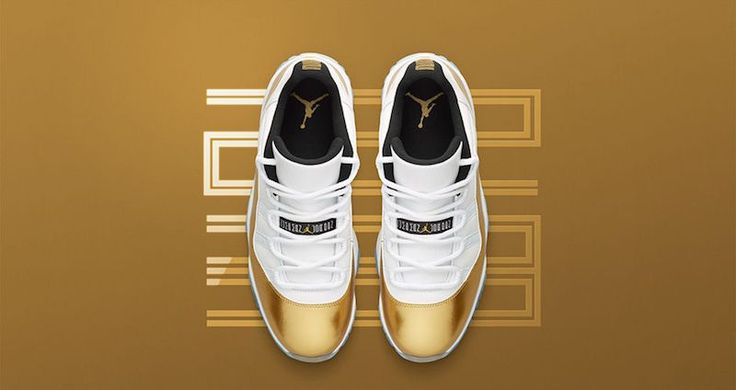 "Air Jordan 11 Metallic Gold #jordan     Photos: Nike/ Sneakernews The much anticipated Air Jordan 11 ""Metallic Gold"" Olympic will be released this week-end, just after the closing ceremony in Rio. This summer we've seen an array"