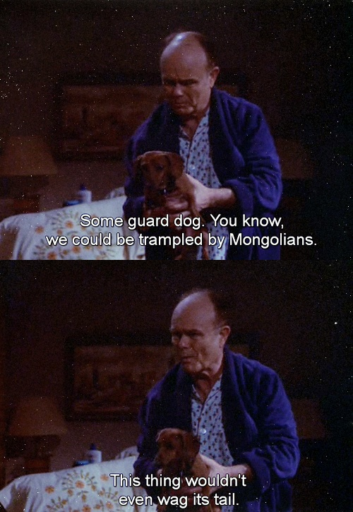 That 70s Show: Guard dog