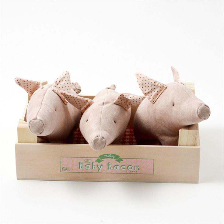 """three little pigs soft toy"""