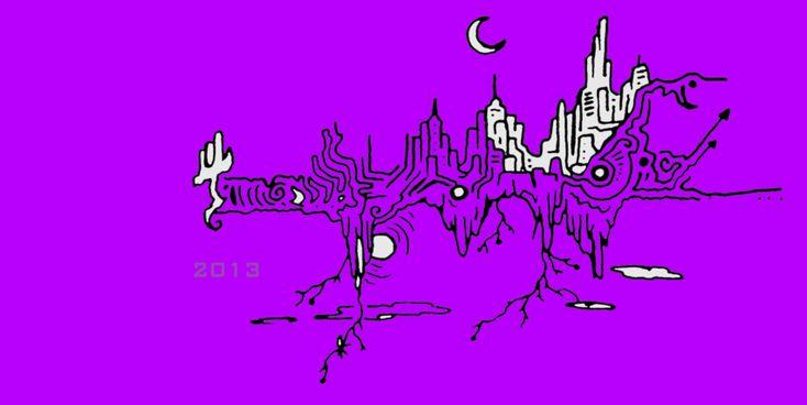 2013 NEW YEaR ACID TRIP by ACIDdrawings.deviantart.com