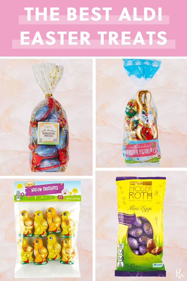 Aldis Chocolate Easter Treats Are Just Too Cute Easter