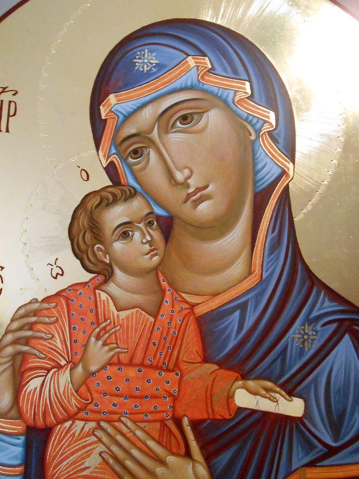 Eleousa del Monastero delle Vergini di Cosenza through the hand of Maria Teresa Battilana