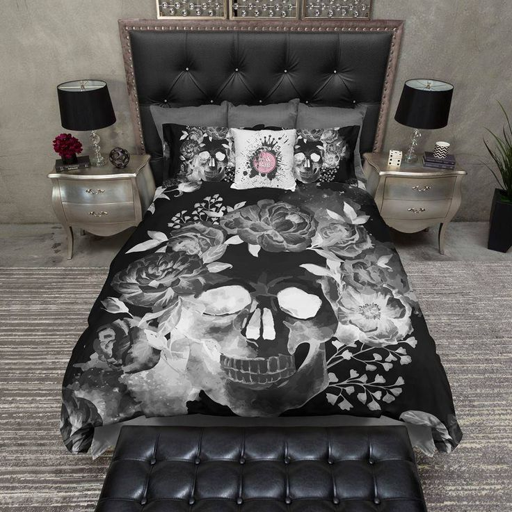 25 Best Ideas About Skull Bedroom On Pinterest Sugar Skull Decor Skull Decor And Skull Furniture