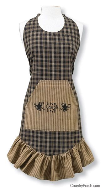 Black Sturbridge Prairie Apron
