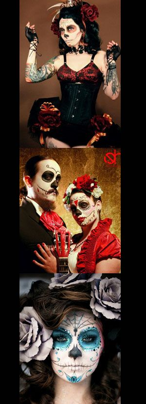 Image detail for -Day of the Dead costume party Friday night!   Project Unity ...