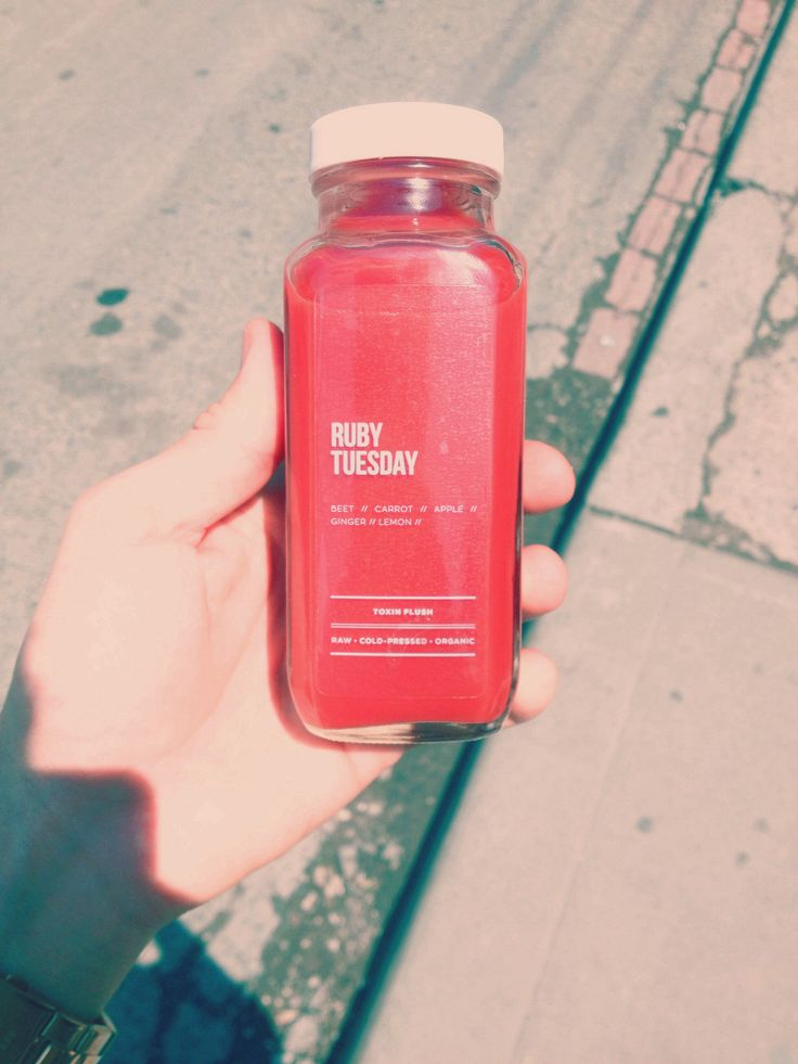 Healthy raw cold pressed juice - from Toronto's good press juice