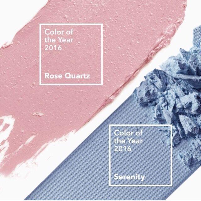 Rose Quartz + Serenity Blue
