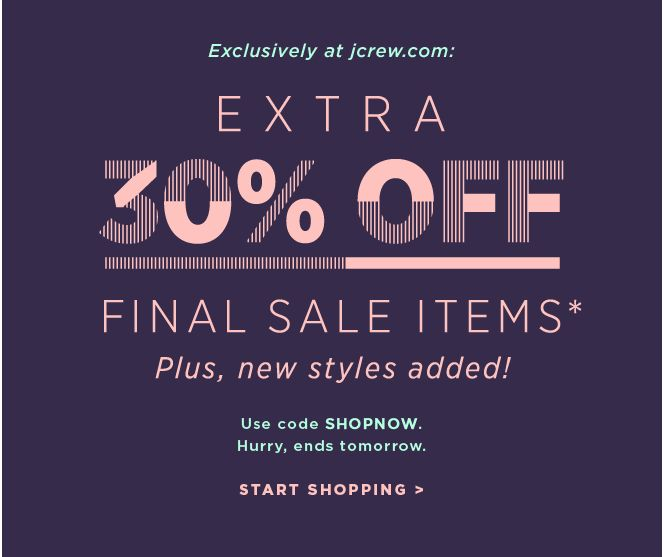 I've been loving J. Crew's e-mails lately