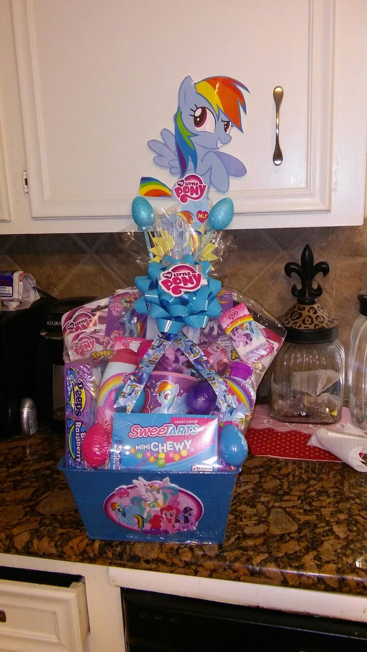 my little pony easter basket