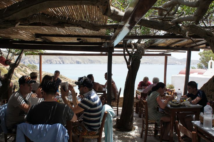 Make sure to stop by Kiki's Taverna for lunch if you are in Mykonos!