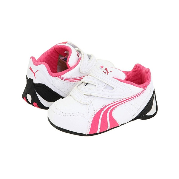 Puma Kids Kart Cat Evo Inf (Infant/Toddler) : Puma Kids Girls Shoes, Puma found on Polyvore