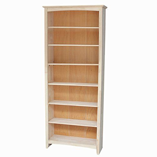 International Concepts Shaker Bookcase, 84-Inch, Unfinished International Concepts http://www.amazon.com/dp/B00PIR7L0W/ref=cm_sw_r_pi_dp_nSVavb0DRAPYS
