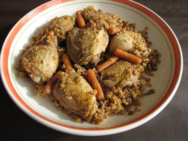 Interesting Rice Pilaf  With Chicken -  Easy Chicken Recipe #image #food #cook #kitchen