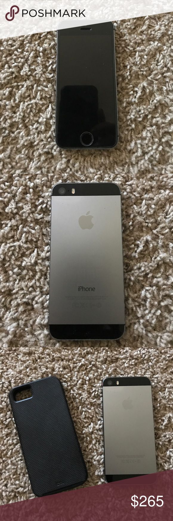 Verizon Iphone 5S Verizon Iphone 5S! Excellent condition! Includes charger, case. Tempered glass screen protector. iphone Other