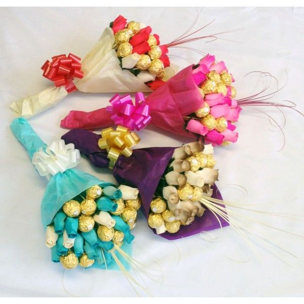 A Ferrero Rocher Bouquet Can Make A Very Special Gift Idea   Stylish Board