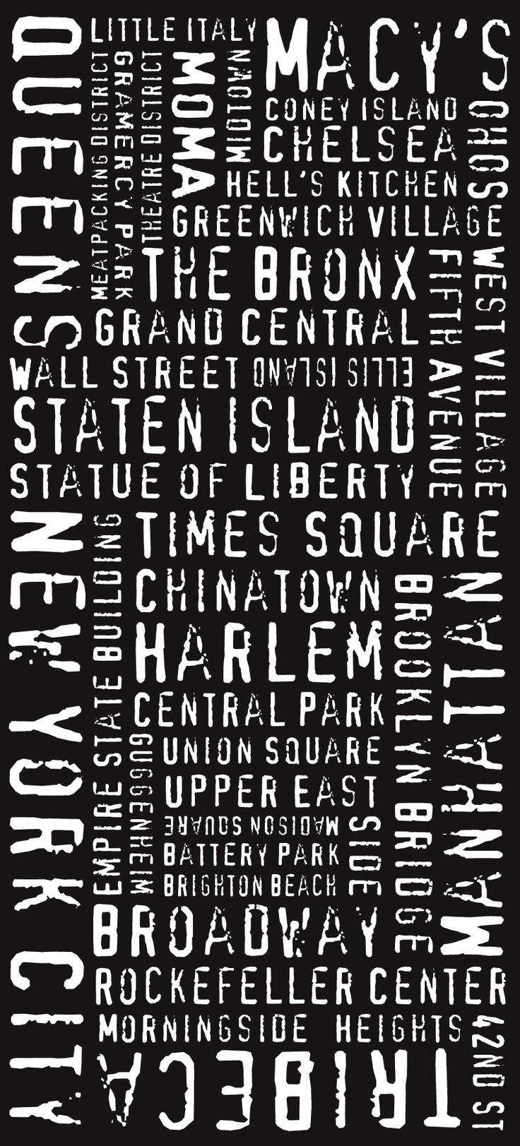 NYC Modernista Tram Scroll