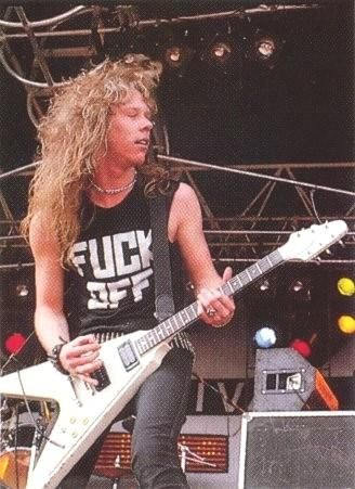 Read that James Hetfield used to use 'generic' Flying V's and put Gibson plates on it.  Can't complain, always dug his tone and playing.