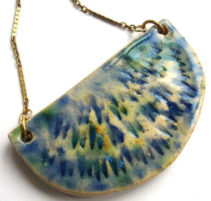 Ceramic Jewelry! So cool!