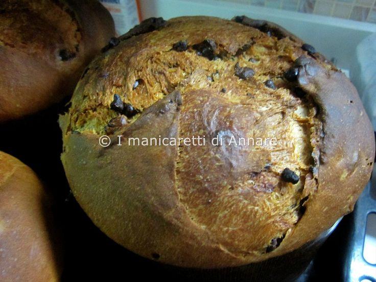 I manicaretti di Annarè: Panettone al cioccolato delle Sorelle Simili. Ver tb https://www.facebook.com/vanessa.ordovas/media_set?set=a.10202603362155403.1073741856.1537520225&type=3