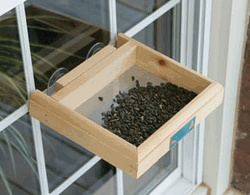 Window bird feeder for cats woodworking projects amp plans