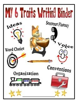 AMAZING blog of 6 traits writing resources by Mrs. Warner's 4th grade classroom!
