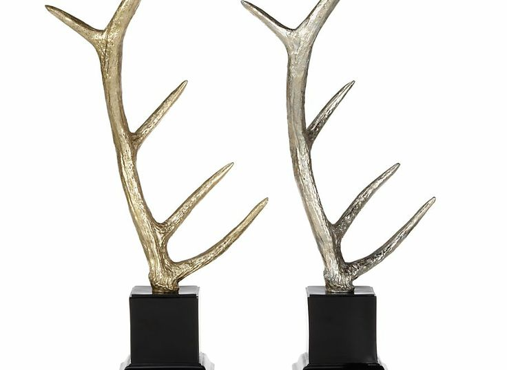Faux deer antlers z gallerie home decor i love for Antler decorations for home
