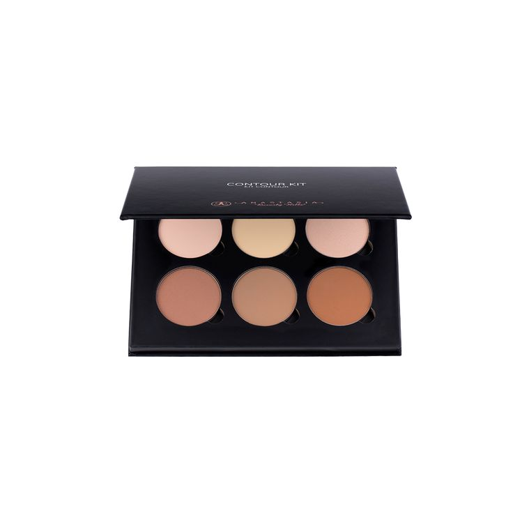 Contour Kit - Light to Medium. Anastasia Beverly Hills Contour Powder Kit to create the illusions of higher cheekbones, a slimmer nose, softer jawline, or smaller forehead.