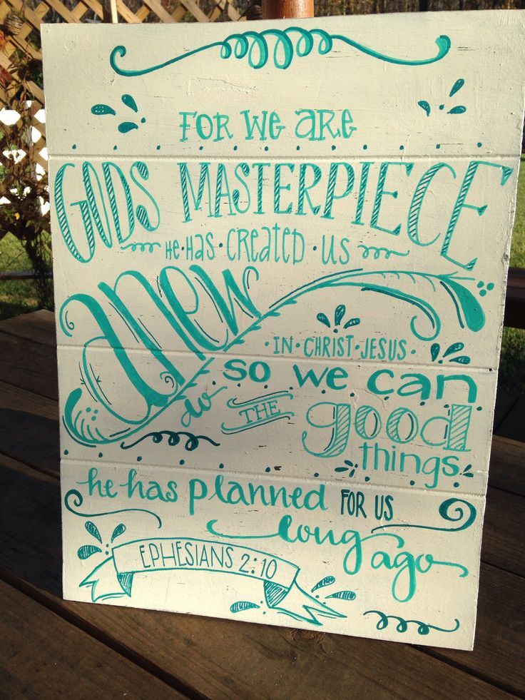 Hand Painted Bible Verses On Wood Projects Scripture