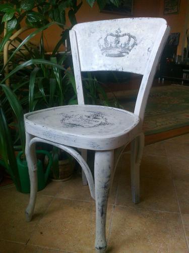 """МК Ольги Степановой """"Очень старый стул"""" http://dcpg.ru/mclasses/1178/"""