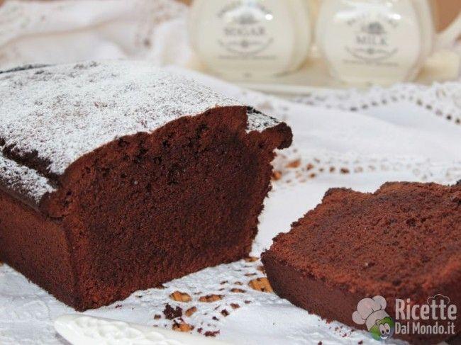 Ricetta per Plumcake al Cioccolato Fondente