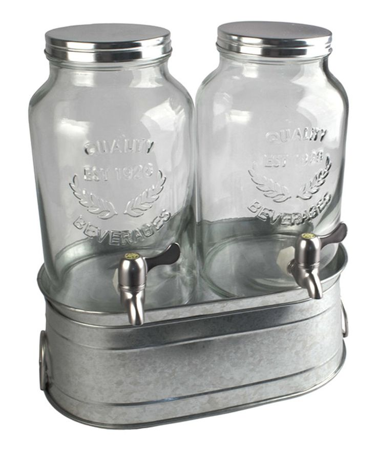 Take a look at this Masonware Farmhouse Beverage Dispenser Set today!
