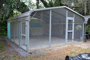 11 best dog kennels images on pinterest dog kennels for Carport dog kennels