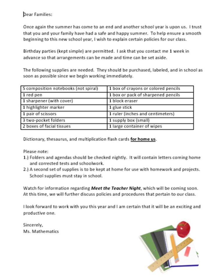 Homework policy in schools