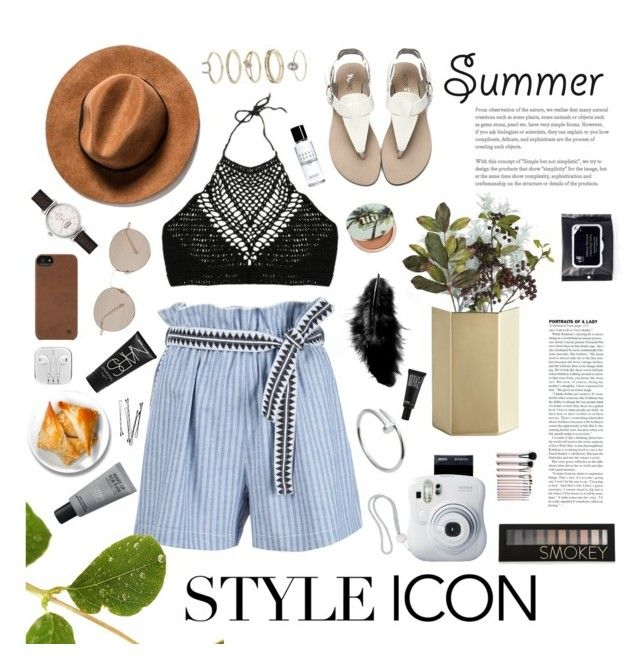 Style icon, summer by afitabiyigun on Polyvore featuring polyvore, Lemlem, Shinola, Miss Selfridge, Cartier, Incase, Gucci, Forever 21, MAKE UP FOR EVER, Urban Decay, Make, Bobbi Brown Cosmetics, NARS Cosmetics, CB2, OKA, Fujifilm, fashion, style and clothing